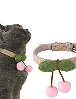 cheap -Dog Cat Collar Cute and Cuddly Bowknot Nylon Husky Labrador Alaskan Malamute Golden Retriever Japanese Spitz Beagle Pink 1pc
