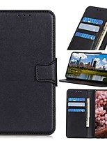cheap -Case For Nokia 8.3 5G Nokia C2 C1 Nokia X71 Wallet Card Holder with Stand Solid Colored PU Leather Case For Nokia 1.3 Nokia 2.3 Nokia 6.2 Nokia 7.2 Nokia 2.2 Nokia 4.2 Nokia 3.2 Nokia 1 Plus