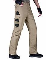 cheap -men's tactical pants water-resistant cargo pants(brown 30w)