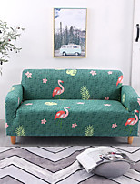 cheap -Stretch Slipcover Sofa Cover Couch Cover Flamingo Printed Sofa Cover Stretch Couch Cover Sofa Slipcovers for 1~4 Cushion Couch with One Free Pillow Case
