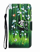 cheap -Case For Samsung Galaxy Note 20 Ultra Galaxy S20 Ultra Wallet Card Holder with Stand Full Body Cases Panda PU Leather TPU for Samsung Galaxy A71 Note 20 A21S A51 A70 A30 A50 A20S S20