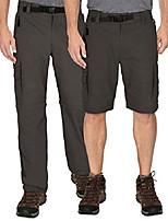 cheap -men's convertible cargo hiking pants shorts, army green, medium x 30
