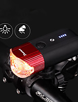 cheap -usb rechargeable bicycle headlight bike light 1000 lumens super bright front light 5 light modes fits all bicycles