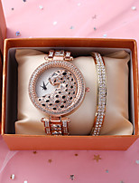 cheap -Women's Quartz Watches Quartz Modern Style Stylish Classic Chronograph Silver / Gold / Rose Gold Analog - Rose Gold Gold Silver