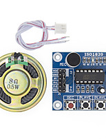 cheap -Isd1820 Voice Recording Module With Microphone and Audio Speaker