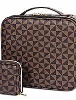 cheap -makeup bag, travel makeup organizers storage case,portable make up bag organizer cosmetic train (grey)