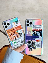 cheap -Case For Apple iPhone 11 Shockproof / Dustproof Back Cover Word / Phrase / Solid Colored TPU For Case iphone 11 Pro/11 Pro Max/7/8/7P/8P/SE 2020/X/Xs/Xs MAX/XR
