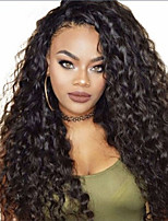 cheap -Synthetic Wig Afro Jerry Curl Asymmetrical Wig Very Long Black Synthetic Hair 28 inch Women's Classic Exquisite Fluffy Black