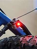 cheap -bike brake light mount tail rear bicycle cycling red led safety warning lamp