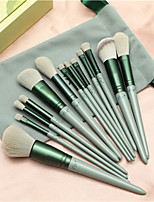 cheap -13 Pcs Professional Makeup Brush Set Synthetic Foundation Blending Concealer Eye Face Liquid Powder Cream Cosmetics Brushes