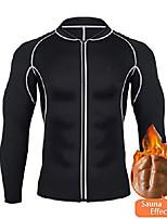 cheap -men waist trainer vest hot neoprene sauna suit corset body shaper zipper tank top workout shirt