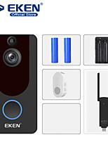 cheap -EKEN V7 HD 1080P Smart WiFi Video Doorbell Camera Visual Intercom Night vision IP Door Bell Wireless Security Camera