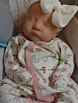 cheap -20 inch Reborn Doll Baby & Toddler Toy Baby Girl Reborn Baby Doll Levi Newborn lifelike Hand Made Simulation Floppy Head Cloth Silicone Vinyl with Clothes and Accessories for Girls' Birthday and