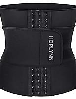 cheap -neoprene sweat waist trainer corset trimmer belt for women weight loss slimming stomach body shaper black x-large