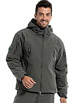 cheap -men's military special ops tactical jacket warm hooded outdoor soft shell coat