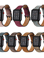 cheap -Watch Band for Apple Watch Series 6 SE 5 4 3 2 1  Apple Leather Loop Quilted PU Leather Wrist Strap