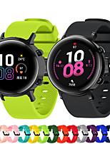 cheap -Sport Silicone Watch Band for Samsung Galaxy Watch 3 41mm / Galaxy Watch 42mm / Galaxy Active 2 40mm 44mm / Galaxy Active 40mm / Gear Sport / Gear S2 Classic Replaceable Bracelet Wrist Strap Wristband