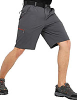 cheap -men's hiking cargo shorts quick dry outdoor nylon short with 6 pockets, water resistant, graphite grey, 32
