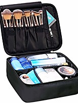 cheap -travel makeup bag large cosmetic bag make up case organizer for women and girls