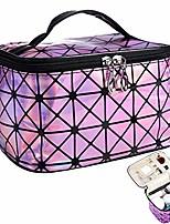 cheap -women portable travel cosmetic bag makeup bag waterproof pu leather handy toiletry bag