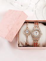 cheap -Women's Quartz Watches Quartz Modern Style Stylish Elegant Chronograph Analog Rose Gold Gold Silver