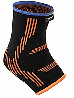 cheap -kunto fitness ankle brace compression support sleeves (pair) for injury recovery, joint pain, swelling, plantar fasciitis & achilles tendon (extra small)