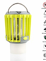 cheap -camping lantern led flashlight bug zapper - portable ip67 waterproof outdoor tent light camp lamp with 2000mah rechargeable battery, sos emergency warning lighting (orange)