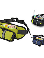 cheap -Fanny Pack Hiking Waist Bag Running Pack for Fitness Running Camping Cycling Sports Bag Waterproof Lightweight Wearable with Water Bottle Holder Adjustable Buckle Multiple Pockets Nylon Men's Women's