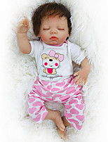cheap -Otard Dolls 18 inch Reborn Baby Doll Baby Boy Baby Girl lifelike Gift Cute Tipped and Sealed Nails Natural Skin Tone 3/4 Silicone Limbs and Cotton Filled Body with Clothes and Accessories for Girls