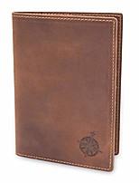 cheap -leather passport holder travel wallet - genuine leather travel wallet for men and women - bifold passport wallet for travel