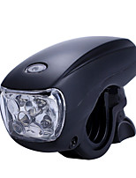 cheap -bicycle super bright led bike light front 4-modes waterproof multi-functional bicycle headlight (black)