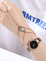 cheap -Women's Quartz Watches Quartz Vintage Style Stylish Fashion Chronograph Analog Rose Gold