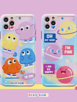 cheap -Cartoon Little Monster Pattern IMD Case For Apple iPhone 11 Pro Max 8 Plus 7 Plus 6 Plus Max Back Cover