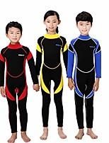 cheap -2.5mm neoprene wetsuit for kids