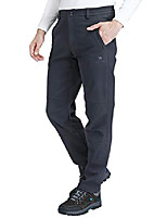 cheap -men's softshell fleece pants waterproof windproof for outdoor mountain ski hiking hunting insulated trousers(gray, m)
