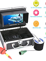 """cheap -MOUNTAINONE F002M-30M 30M 1000tvl Underwater Fishing Video Camera Kit 6 PCS LED Lights with7"""" Inch Color Monitor"""