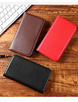 cheap -Case For iPhone 11 Card Holder / Shockproof / Dustproof Full Body Cases Solid Colored PU Leather Case For iPhone 12 / 11 Pro Max / SE2020 / XS Max / XR XS 7 / 8 7 / 8 plus