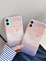 cheap -Case For Apple iPhone SE 2020 Ultra thin Frosted Back Cover Scenery PC iPhone 11 Pro Max XS Max XR 7 8 Plus 6s 6 Plus