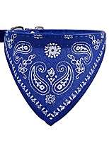 cheap -dog bandanas,triangle bibs dog kerchief, scarfs accessories for small to large dogs cats pets (blue)