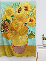cheap -Oil Painting Style Wall Tapestry Van Gogh Art Decor Blanket Curtain Hanging Home Bedroom Living Room Decoration Sunflower
