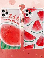 cheap -Watermelon Pattern IMD Case For Apple iPhone 11 Pro Max 8 Plus 7 Plus 6 Plus Max Back Cover