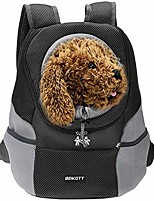 cheap -cat backpack carriers, pet dog backpack carriers for small cats/dogs/puppy/teddy/bunny, ventilate dog carrier backpack for travel, hiking and outdoor use