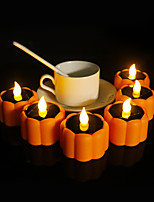 cheap -Halloween Party Toys LED Lighting Electronic Candle Light 3 pcs Pumpkin Twinkling Plastic Kid's Adults Trick or Treat Halloween Party Favors Supplies
