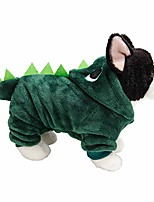 cheap -animal costumes hooded pet dog sweater puppy coat soft warm winter clothes doggie apparel(green,m)