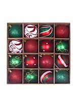 cheap -2 Boxes 32 Pcs Christmas Balls Ornaments for Xmas Tree - Shatterproof Christmas Tree Decorations Hanging