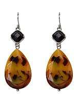 cheap -Women's Drop Earrings Drop Fashion Earrings Jewelry Brown For Gift Date