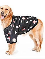 "cheap -cute big large dog baseball coat jacket golden retriever labrador dog sport clothes winter warm dog hoodie clothing (4xl(bust:26.7""-28.7""), black)"