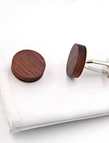 cheap -Cufflinks Simple Basic Brooch Jewelry Brown For Daily Festival