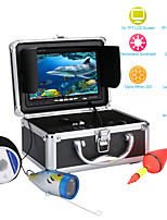 "cheap -MOUNTAINONE F001M-30M 30M 7"" Inch 1000tvl Underwater Fishing Video Camera Kit 12 PCS LED Lights Video Fish Finder Lake Under Water fish cam"