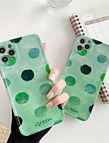 cheap -Case For Apple Scene Map iPhone 11 11 Pro 11 Pro Max Photo Frame Private Model Series Wave point Pattern TPU Material IMD Craft Glossy Phone Case